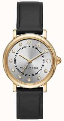 Marc Jacobs Womens marc jacobs relógio clássico leatherr preto MJ1641