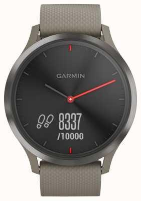 Garmin Vivomove hr atividade rastreador sandstone strap black dial 010-01850-03