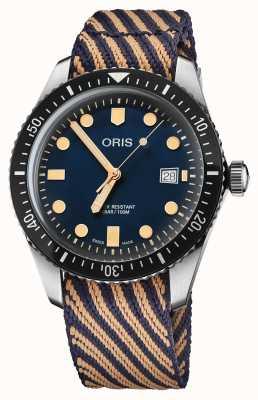 """ORIS Sessenta e cinco edição limitada do mergulhador """"dia da limpeza mundial"""" 01 733 7720 4035-5 21 13"""