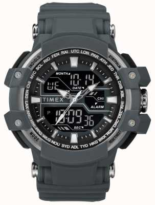 Timex Mens 50mm cinza escuro cinza escuro TW5M22600