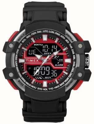 Timex Mala preta para homem 50mm com alça preta preta TW5M22700