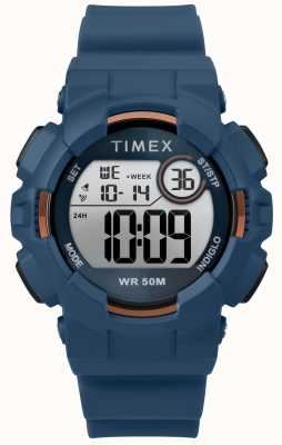 Timex Bracelete azul de 44mm azul para mulher TW5M23500