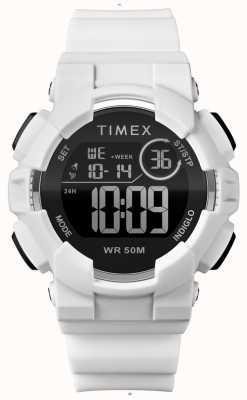 Timex Bracelete branca em branco 44mm para mulher TW5M23700