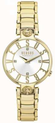 Versus Versace Kristenhof ouro dial ouro pulseira de pvd das mulheres SP49060018