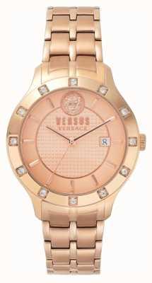 Versus Versace Brackenfell Womens dial ouro rosa pulseira de ouro pvd SP46040018