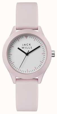 Jack Wills Alça de silicone rosa de discagem de união das mulheres JW008PKPK