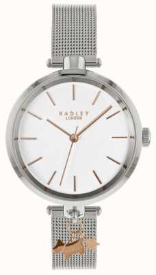 Radley Relógio de malha de prata para senhora RY4363