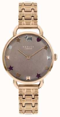 Radley Senhoras assistem pulseira de ombro aberto de ouro rosa RY4350