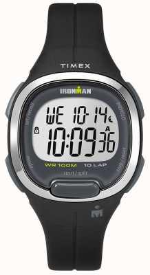 Timex Relógio de pulseira de resina tamanho médio 33mm de trânsito Ironman TW5M19600SU