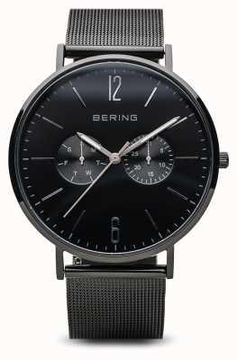 Bering Clássico | preto polido | mens | 14240-223