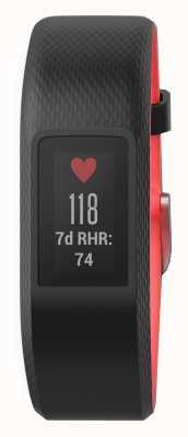 Garmin Vivosport gps pequena pulseira de foco preto / fúcsia 010-01789-01