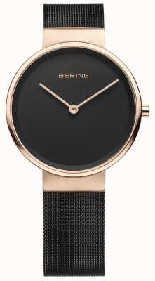 Bering Relógio analógico de quartzo para mulher com bracelete em aço inoxidável 14531-166