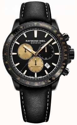 Raymond Weil Tango 300 | amplificação marshall | edição limitada de homens 8570-BKC-MARS