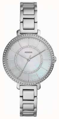 Fossil Jocelyn das mulheres | relógio de aço inoxidável de prata ES4451