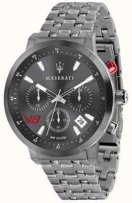 Maserati Mens gt 44mm | mostrador cinza | pulseira de aço inoxidável cinza R8873134001
