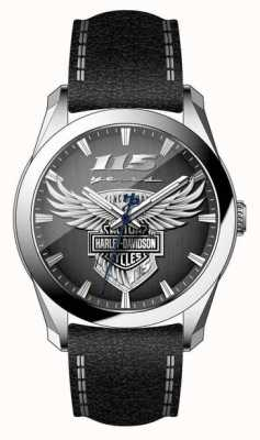 Harley Davidson Relógio de edição limitada do 115º aniversário masculino 76A160