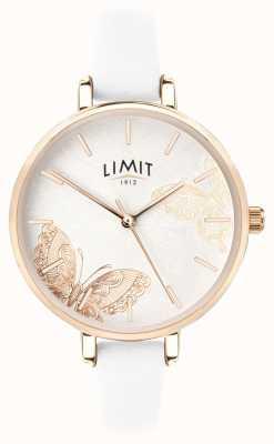 Limit | relógio do jardim secreto das mulheres | seletor de borboleta branco | 60013