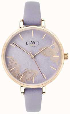 Limit | relógio do jardim secreto das mulheres | mostrador borboleta roxa | 60015