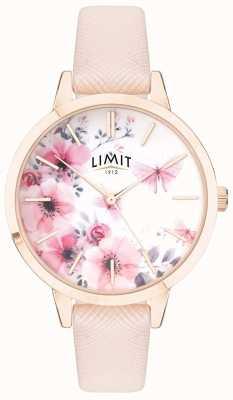 Limit | jardim secreto das mulheres | mostrador floral rosa e branco | strp rosa 60023