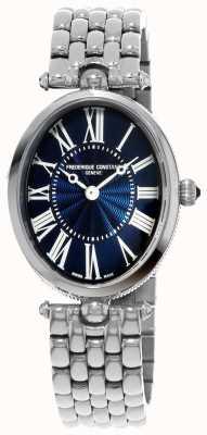 Frederique Constant | senhoras art deco relógio | aço inoxidável | FC-200MPN2V6B