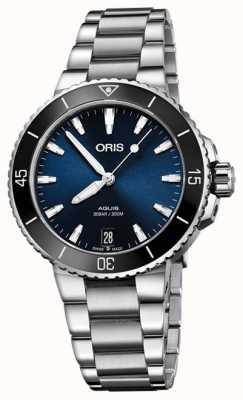 ORIS Relógio de tamanho médio Aquis date 36,5 mm 01 733 7731 4135-07 8 18 05P