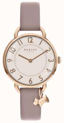 Radley Womens | parque southwark | pulseira de couro rosa RY2544