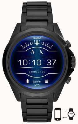Armani Exchange Drexler black | aço inoxidável | relógio inteligente AXT2002