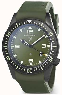 Elliot Brown | mens | holton professional | borracha verde 101-002-R04