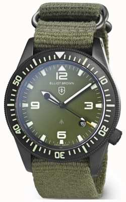 Elliot Brown | mens | holton professional | teia verde 101-002-N01