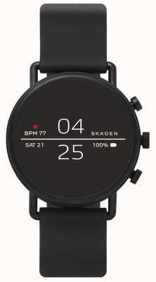 Skagen Silicone preto conectado smartwatch SKT5100