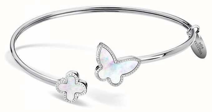 Festina | mulheres | aço inoxidável | borboleta | pulseira | F30000/1