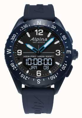 Alpina | mens alpinerx | smartwatch | AL-283LBN5NAQ6
