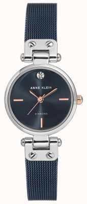Anne Klein | relógio de cabo para mulher | tom da marinha | AK-N3003BLRT