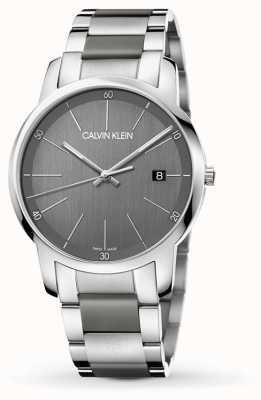 Calvin Klein | relógio da extensão da cidade dos homens | aço inoxidável de dois tons | K2G2G1P4