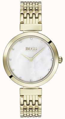 Boss | relógio de aço inoxidável de celebração das mulheres | 1502479