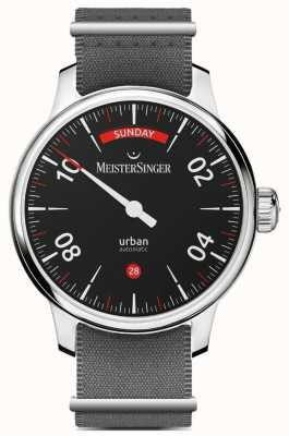 MeisterSinger Data do dia urbano preto URDD902