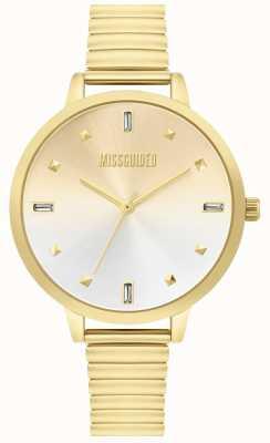 Missguided | senhoras relógio de ouro | MG012GM