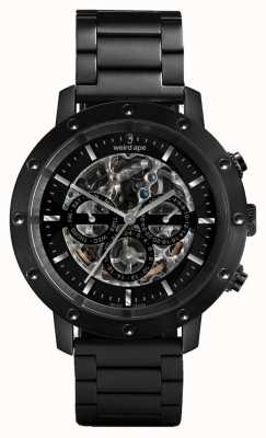 Weird Ape Icarus 3 discar todos preto / preto pulseira de relógio WA02-005700