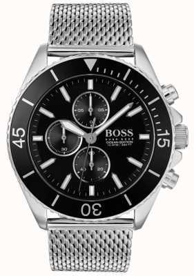 Boss | mens relógio de aço edição oceano | 1513701