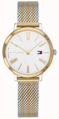Tommy Hilfiger | projeto z watch | aço inoxidável rosa-ouro 1782055