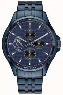Tommy Hilfiger | relógio de pulseira shawn azul para homem | 1791618