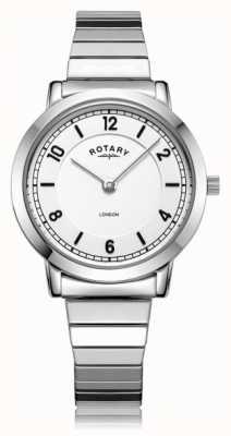 Rotary | pulseira de aço inoxidável para senhora | LB00765/18