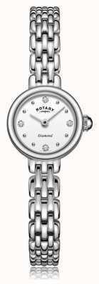 Rotary | pulseira de aço inoxidável para senhora | LB05152/70/D