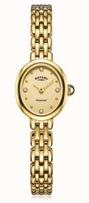 Rotary   pulseira de senhora banhado a ouro   LB05151/03/D