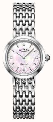 Rotary | pulseira de senhora em aço inoxidável | LB00899/07/D