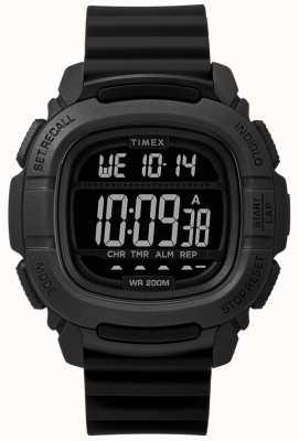 Timex | impulsionar digital de choque preto | TW5M26100SU
