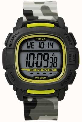 Timex | impulsionar choque preto / cal / camo digital | TW5M26600SU