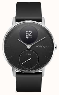 Withings Bracelete em silicone preto em aço hr 36mm HWA03-36BLACK-ALL-INTER
