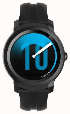 TicWatch E2 sombra smartwatch | pulseira de silicone preto 131586-WG12026-BLK