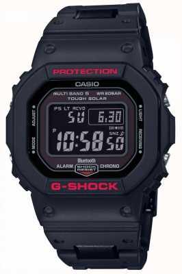 Casio Mens g-shock heritage pulseira de resina preta digital GW-B5600HR-1ER